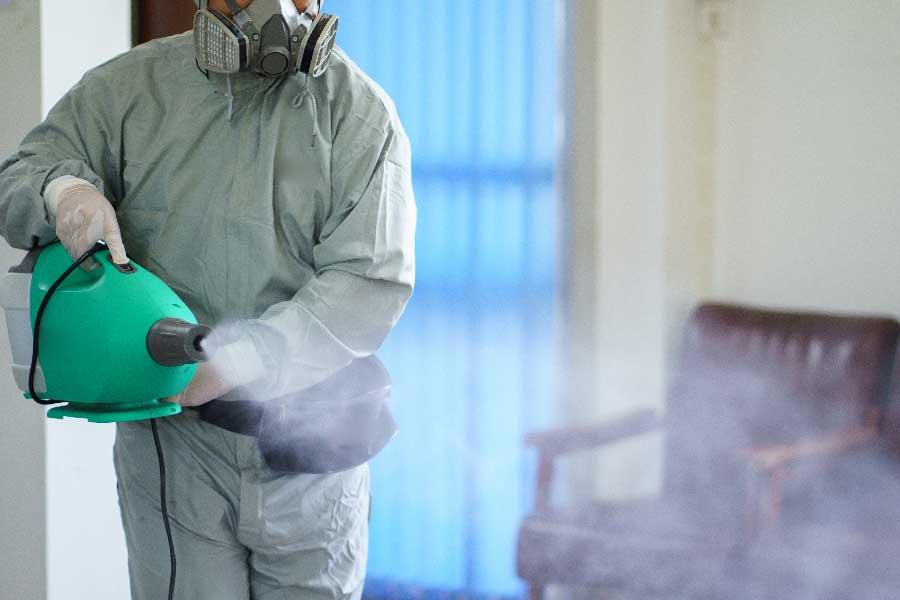 病原体を殺菌消毒