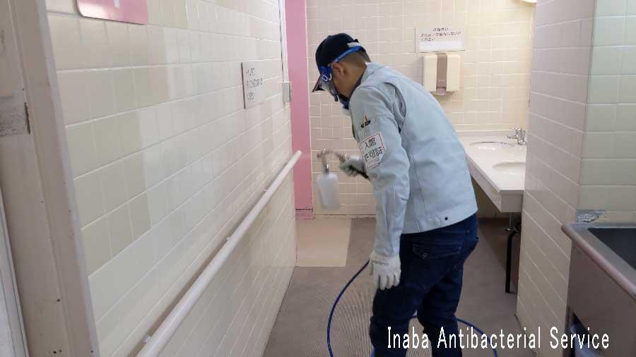 病院抗菌作業