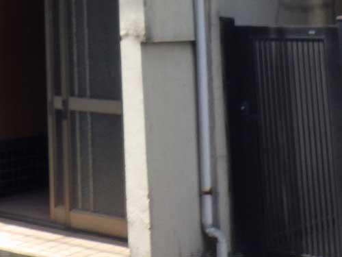 玄関の袖壁