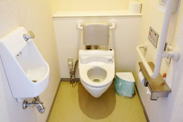 介護施設のトイレ
