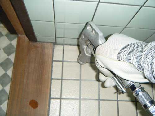 トイレ土壌注入処理