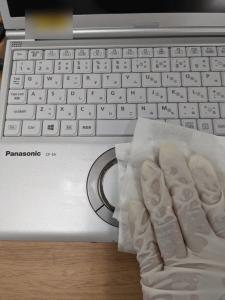 パソコン清拭